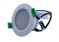D/L, 10 Watts, 90 x 53mm, IC-F, Dimmable, IP 40, 3000K, White. Great Price!