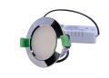 D/L,  10 Watts, 90 x 53mm, IC-F, Dimmable, IP40, 3000K, Chrome