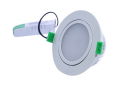 D/L, 12 watts, 110 X 53mm, IC-F, Dimmable,  IP40, 3000K, White