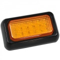 Two LED Amber Lights. 12-24V DC. Good Buying for a twinpack!