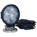 Have light where you need it!  Portable LED Floodlight/Work Light: 12 & 24V DC, 18W