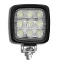 LED FLood Lamp. 15W, 12-28V DC. Swivels. Ideal for off-road vehicles.