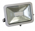 LED Floodlight: 30 Watts, Outdoor rated IP 65. 110 degree beam angle.