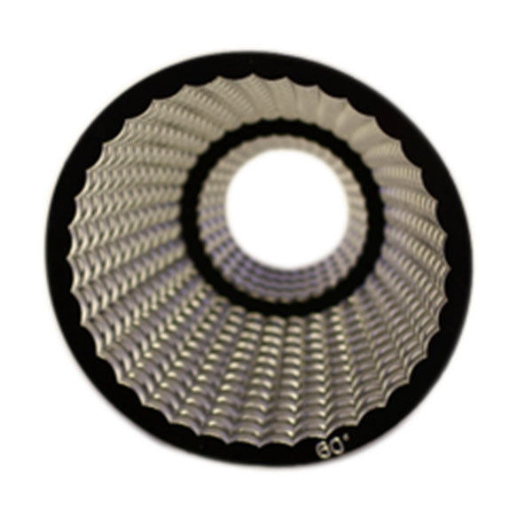 Track light Reflector: 38 degree angle, comes free with track light purchase